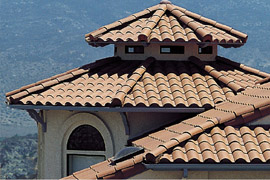 Concrete or Clay Tile Roofing